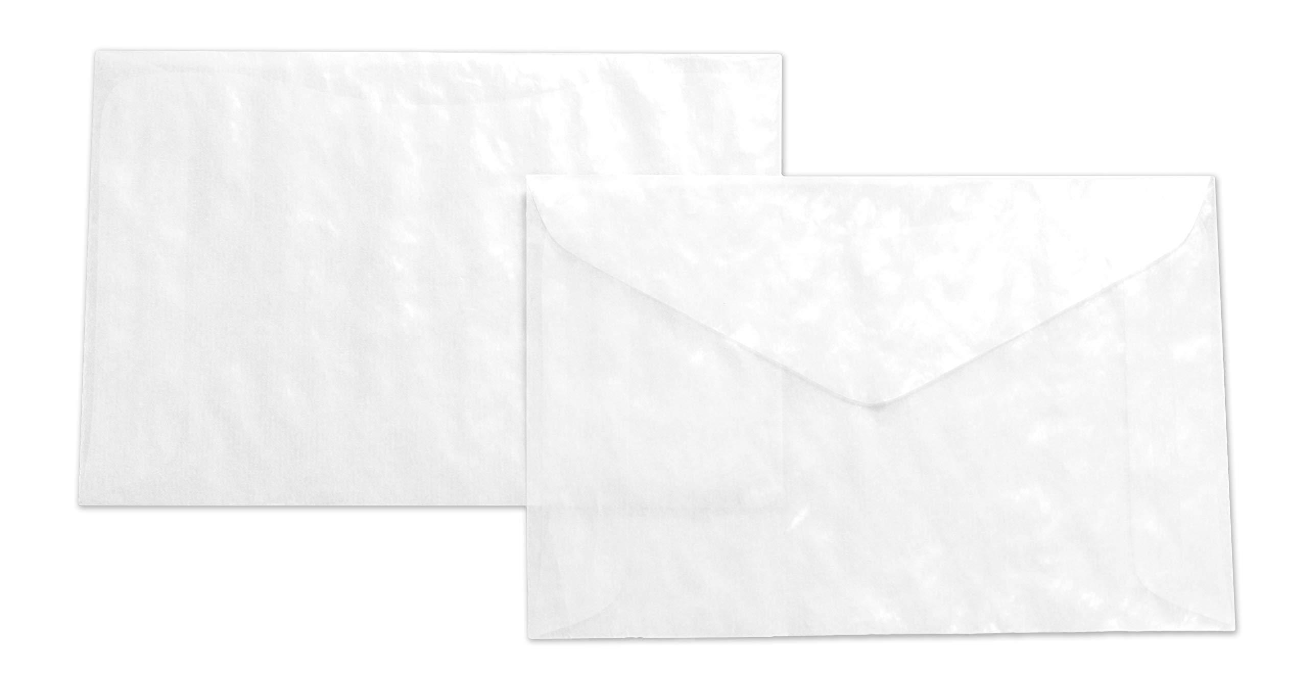Guardian Glassine Envelopes, 3-1/4'' x 4-7/8'', 1000/Box
