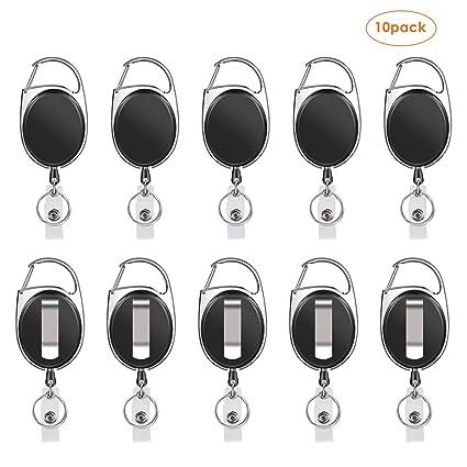 Amazon.com: Coolwin - Soporte retráctil para insignias ...