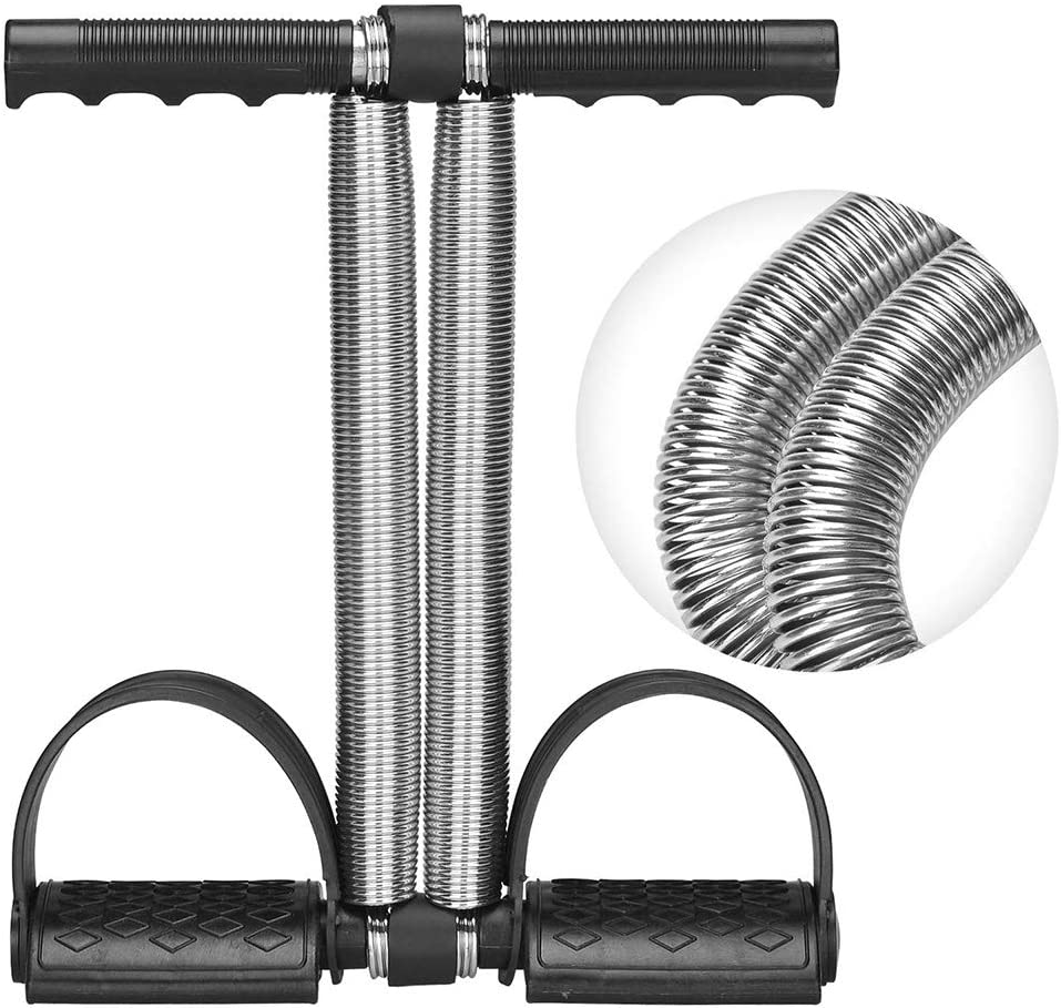 Covvy Upgrade élastique Sit up Tirez corde ressort tension Pédale taille bras jambe