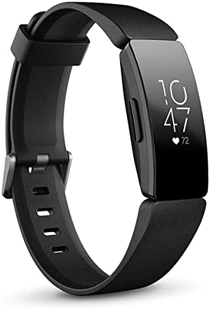 side facing fitbit inspire heart rate and fitness tracker