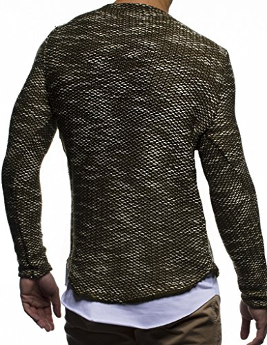 Leif Sweater Leif Nelson Khaki Nelson vwqx0aHwf