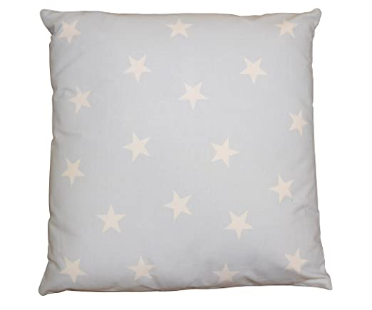 Decoración Cojín estrellas con relleno 45 x 45 cm Cojín ...