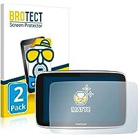 """BROTECT 2x Antireflecterende Beschermfolie compatibel met TomTom GO Premium (5"""") Anti-Glare Screen Protector, Mat…"""