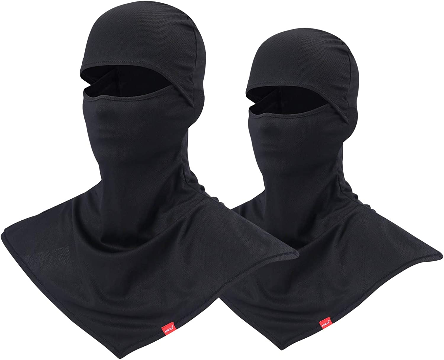 3 Pieces Summer Balaclava Sun Protection Face Mask Breathable Long Neck Cover