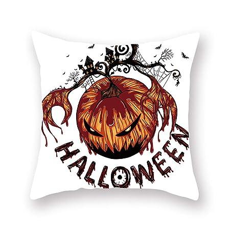 YWLINK DecoracióN De Halloween PañO Funda De Almohada Funda De ...