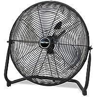 Patton High Velocity Fan Three-Speed Black 8.58-inch wide x 22.83-inch high