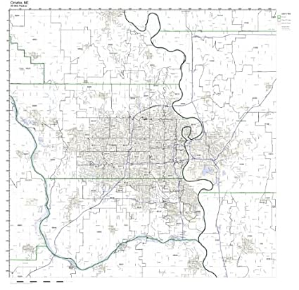 Zip Code Map Omaha Amazon.com: Omaha, NE ZIP Code Map Laminated: Home & Kitchen
