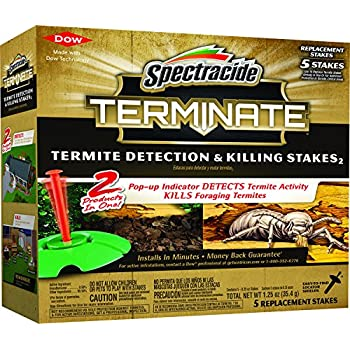 Spectracide Terminate Termite Detection & Killing Stakes2 (Refill) (HG-96116) (5 ct)