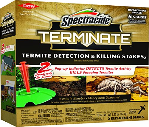 (Spectracide Terminate Termite Detection & Killing Stakes, 5 ct)
