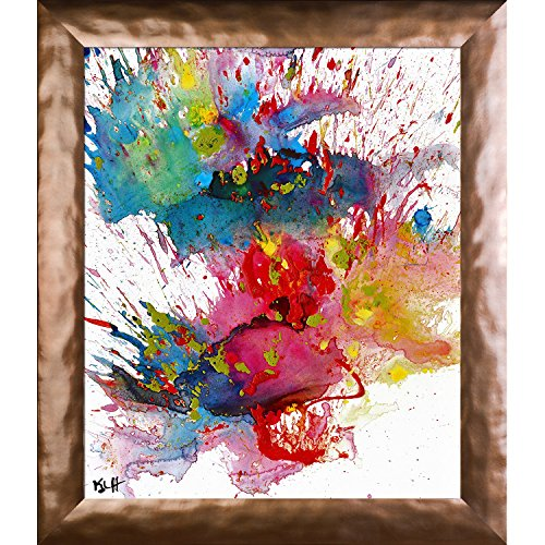Artist Abe Chaotic Craziness Series By Kris Haas Print