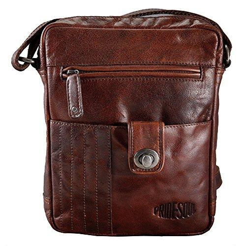 Pride and Soul Postbag M Zusatztasche, Shiny Chestnut