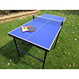 60'' Portable Table Tennis Set