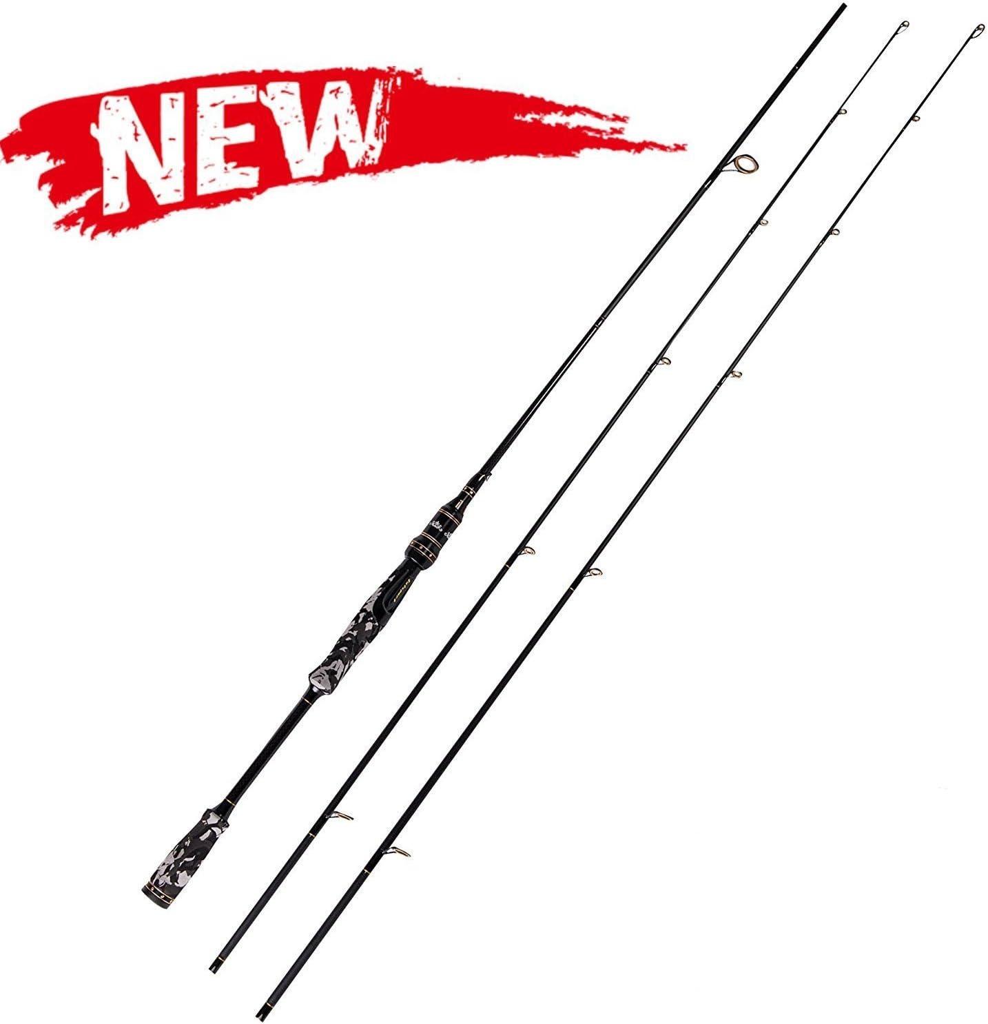 Entsport Camo Legend 2-Piece Spinning Rod