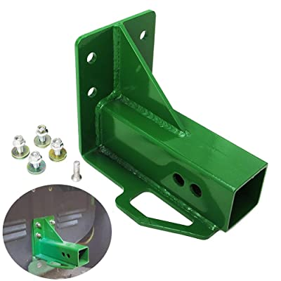 Hodenn Rear Trailer Hitch Receiver Fit for John Deere Gator 4x2 6x4 Old Style with Bolt: Automotive