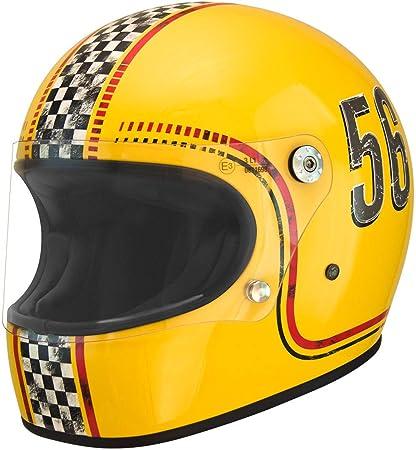 Amazon.es: Premier trofeo Retro Full Face casco para bicicleta de ...