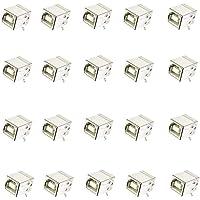 20 Conectores USB Hembra Tipo B Para Soldar