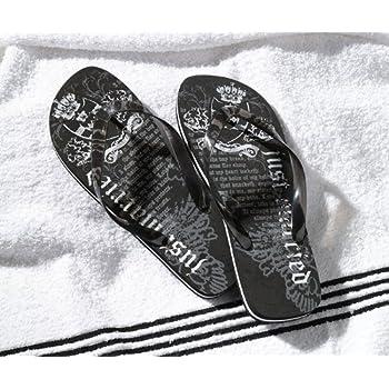 fb40eddce12 Amazon.com  Groom Wedding Honeymoon Gifts Flip Flops - Men Medium ...