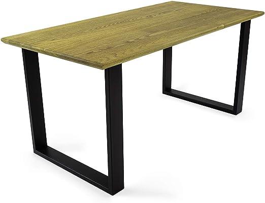 W.O.O.D. Mesa de Comedor con diseño Industrial, Mesa de Cóctel ...