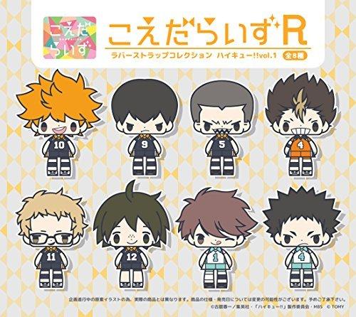 Twigs rise rubber strap Haikyu !! Vol.1 BOX by Japan Import (Image #2)