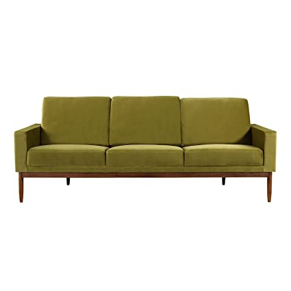 Kardiel Stilt Danish Mod Sofa, Olive/Walnut