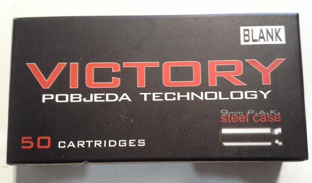 Victory munizioni salve libera vendita cal 9 50 pz per scacciacani POBJEDA Technology