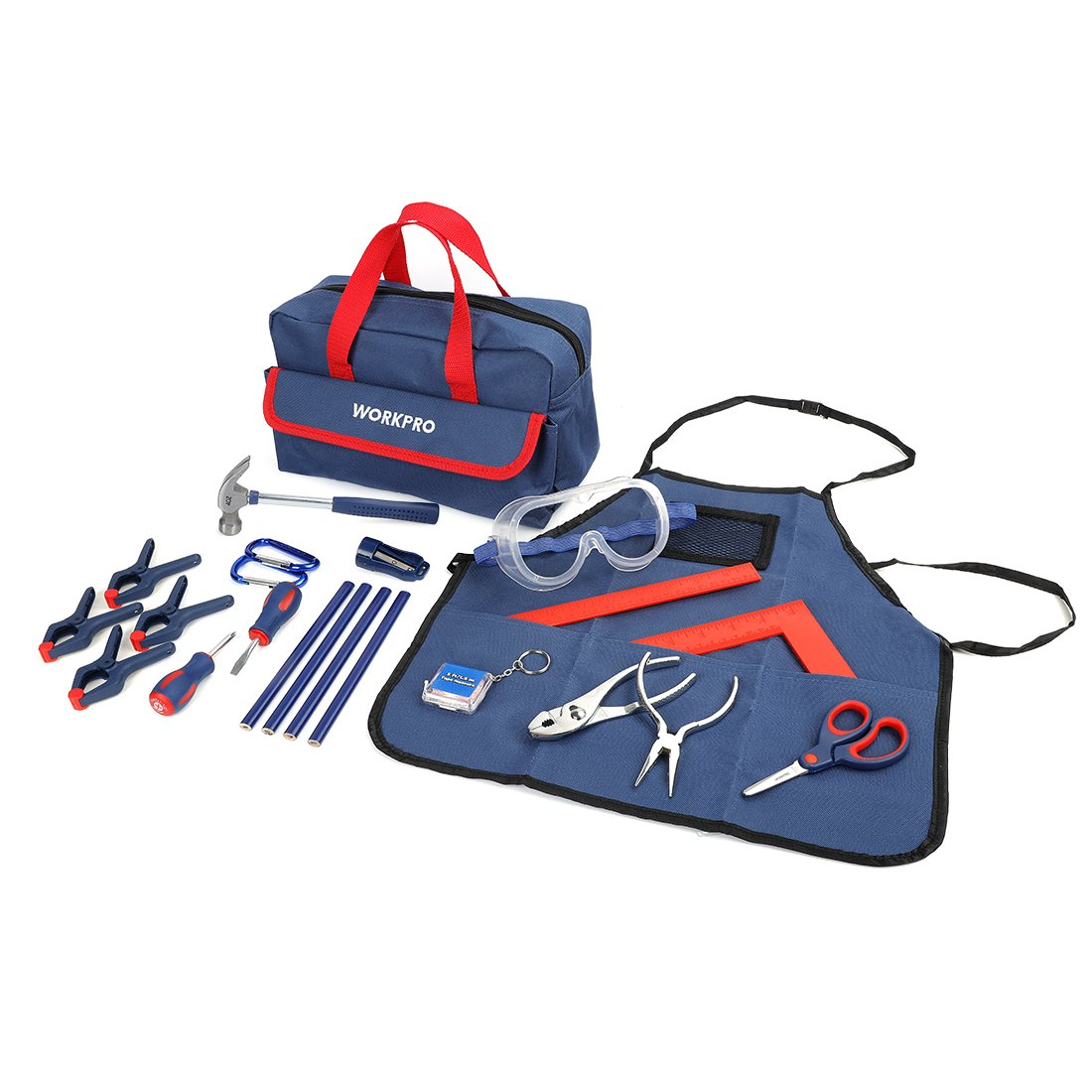 WORKPRO 23-piece Children's Real Tool Kit with Bag LTD