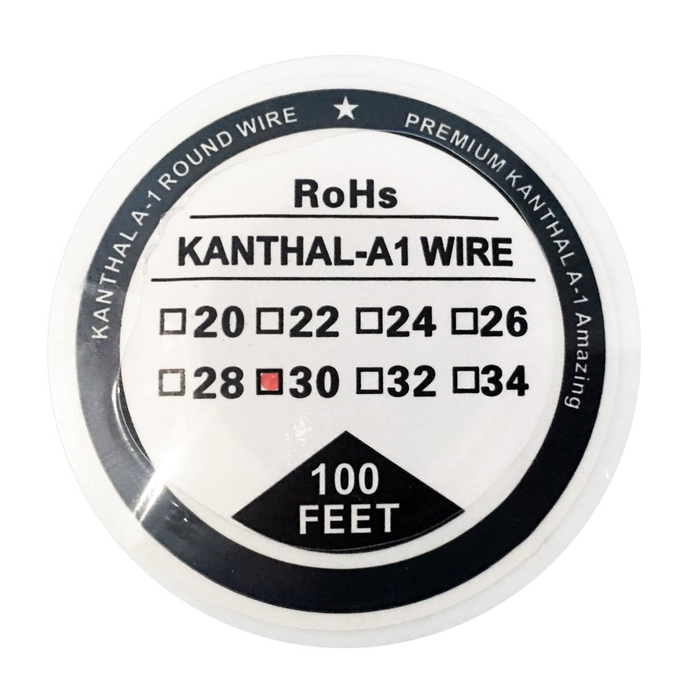 Kanthal A1 Wire Kanthal Type Resistance Wire 22-34G AWG 100ft (30m ...