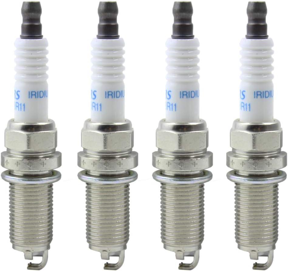 Set of 6 OEM Denso IRIDIUM Spark Plugs FK20HBR11 90919-01249 for LEXUS IS GS LS RC Series