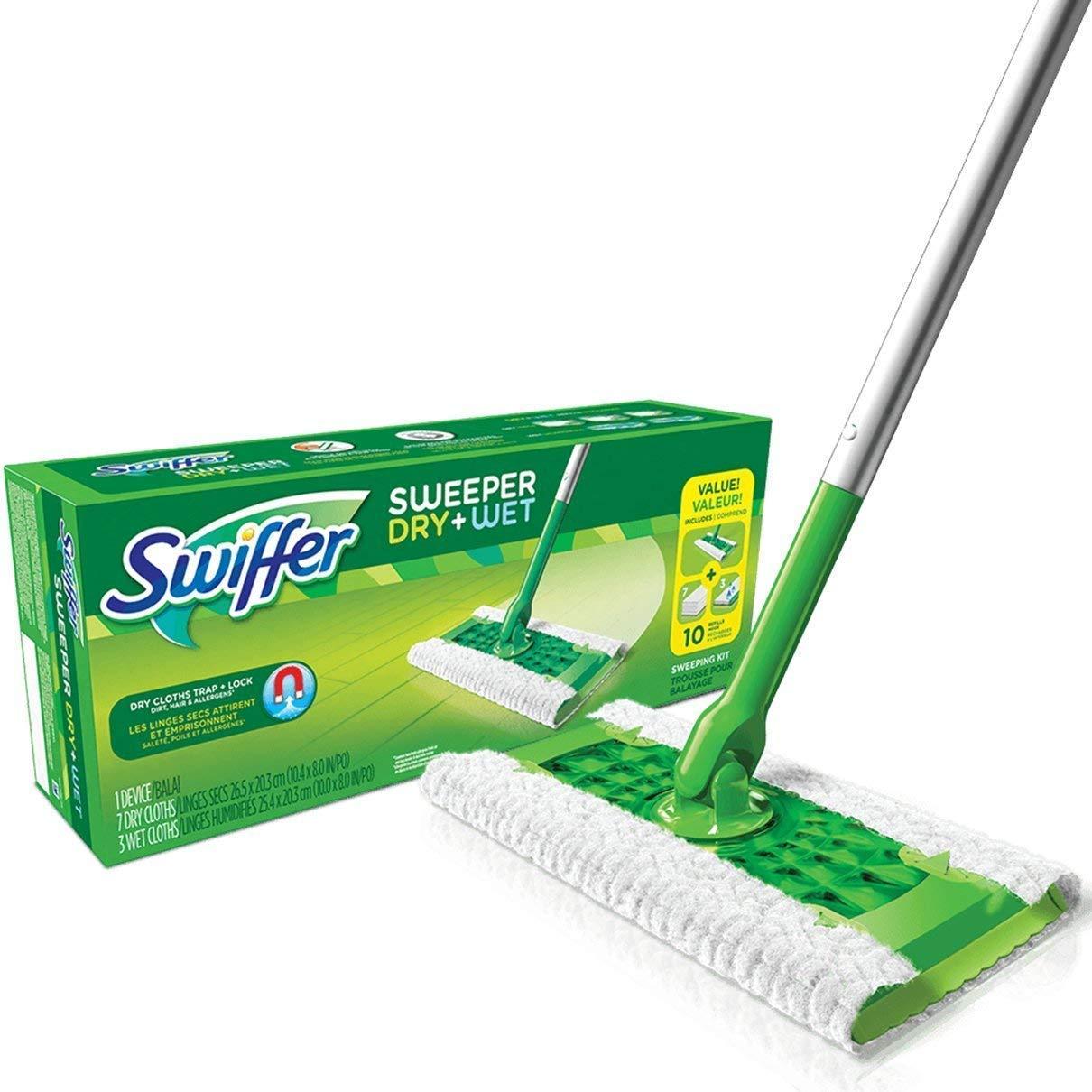 Sweeper Dry And Wet S wiffer Starter Kit Floor Mop Starter Kit