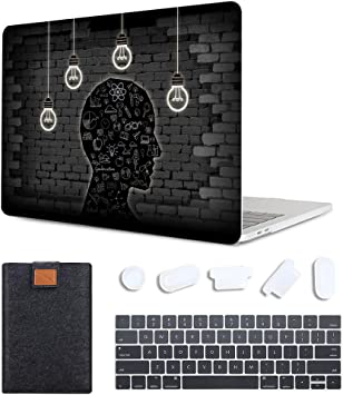"""fOR New Macbook Air//Pro 13/"""" 15/"""" Touch  A1932 A2159 2019 Hard Shell Case Cover XK"""