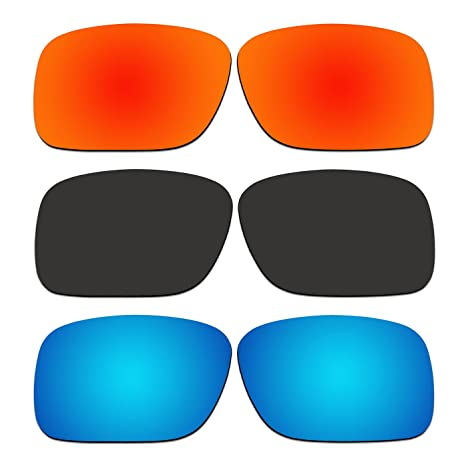 591b4c5a61 Image Unavailable. Image not available for. Color  ACOMPATIBLE 3 Pair Replacement  Polarized Lenses for Oakley SI Ballistic Det Cord Sunglasses OO9253 ...