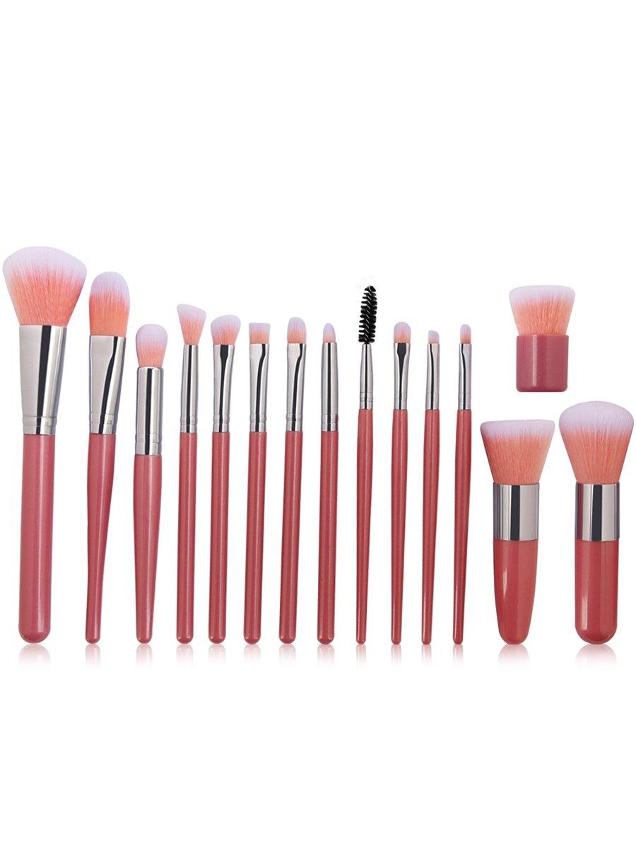 Hemore Professional 15Pcs Ultra Soft Fiber Hair Makeup Brush Set