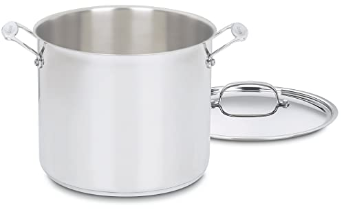 Chef's Classic 12-Quart Stockpot With Cover By Cuisinart