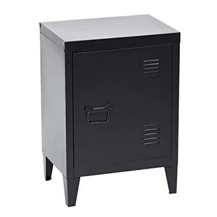 Delicieux HouseinBox Low Standing Locker Organizer Side End Table Office File Storage  Metal Cabinet Cupboard Unit,