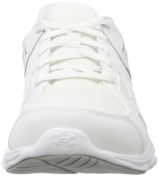 Under Armour UA GS Pace RN, Zapatillas de Entrenamiento Unisex Niños, Blanco (White), 40 EU