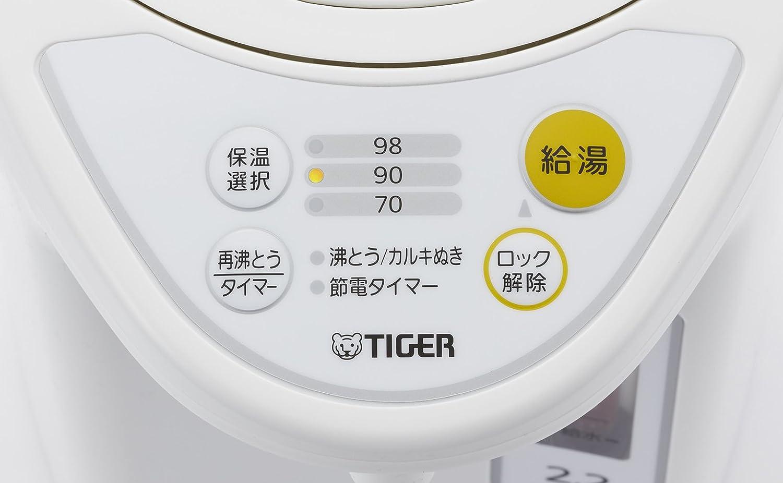 電気ポットの保温機能