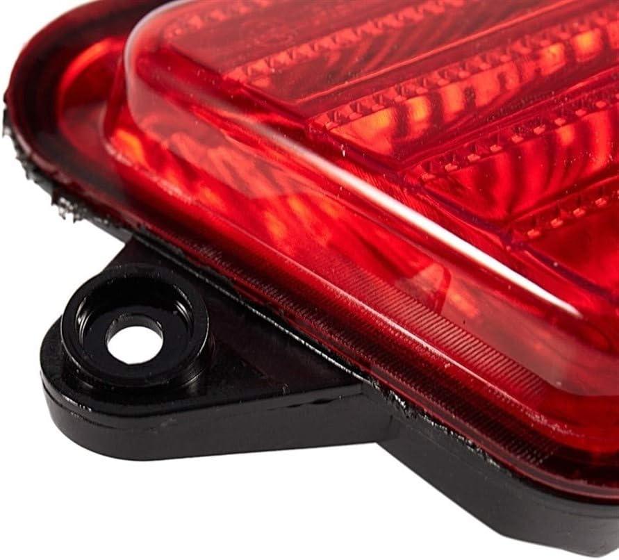 LIUWEI Parachoques Trasero Reflector de luz de Las Luces de Cola Coches Frenos for Jeep Grand Cherokee 2006 2007 2008 2009 2010 Color : Red