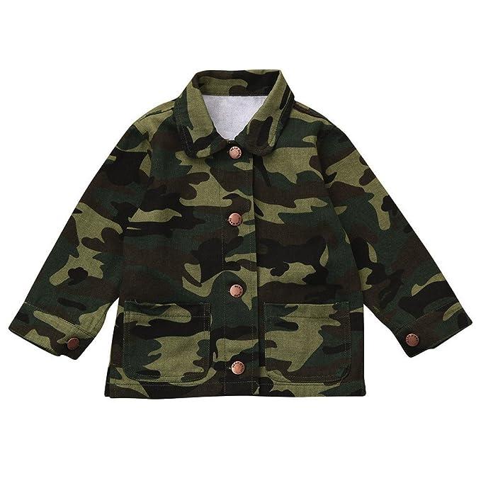 XXYsm XXYsm Mädchen Mantel Kinder Camo Jacken Winter Herbst Camouflage  Outerwear Denim Coat Mäntel  Amazon.de  Bekleidung 6962ea4aef