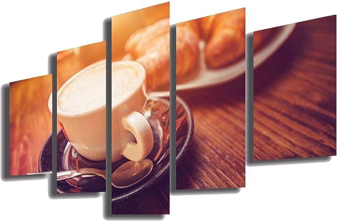 Quadri Moderni cm 100x50 stampa su tela 1 pz Quadro Moderno Casa Bar Caffè