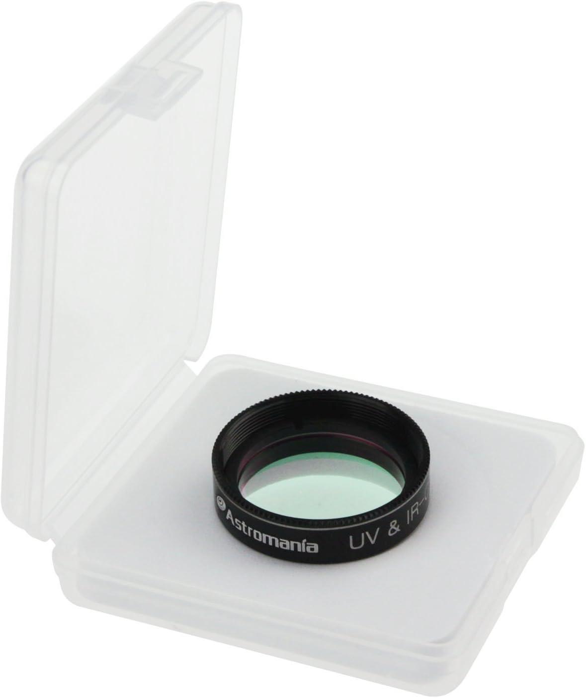 Keeps Your Planetary Images Sharp Astromania 1.25 IR//UV Blocking Filter