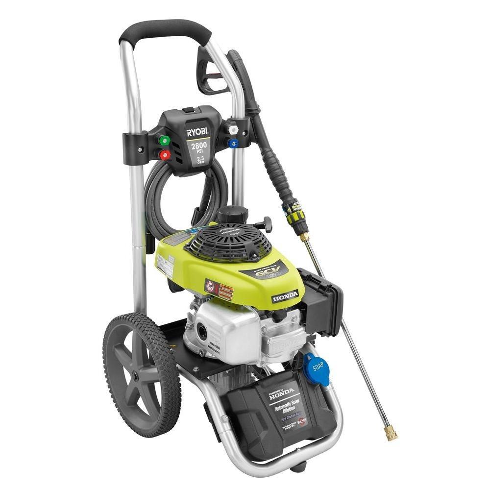 Amazon.com : 2800 PSI 2.3 GPM Honda Power Control Gas Pressure Washer :  Garden U0026 Outdoor