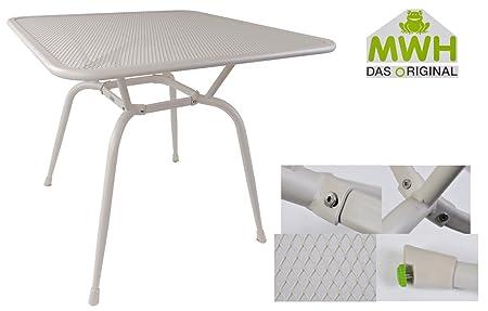 MWH Tisch Conello 90x90x74cm Peyote Streckmetalltisch Gartentisch ...