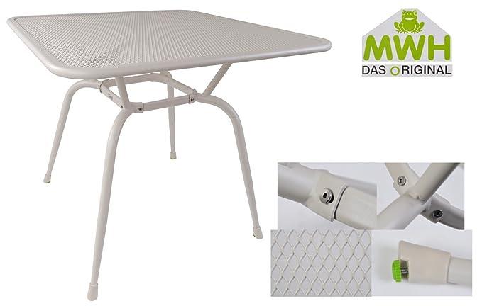 MWH de mesa conello 90 x 90 x 74 cm peyote metal mesa mesa de ...