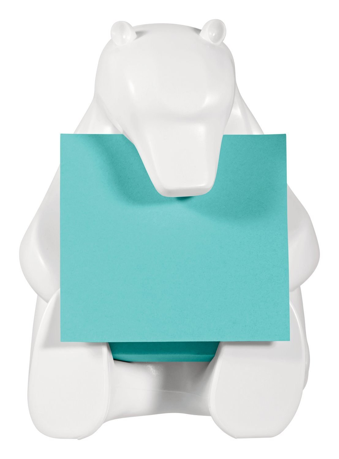 Post-it Notes Dispenser for 3 in. x 3 in. Pop-up Notes, Includes 1 pad of notes, 45 Sheets (BEAR-330) by Post-it