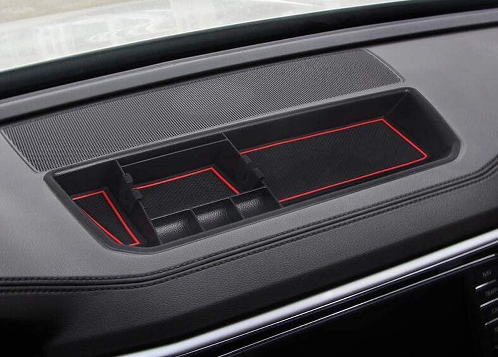 Salusy Car Center Console Dashboard Storage Box Organizer Tray for Volkswagen Atlas 2018 2019