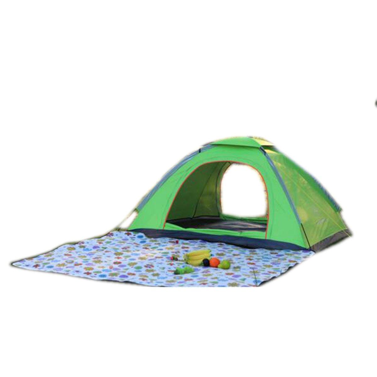 TZQ Freien Camping Camping Camouflage Bergsteigen Angeln Zelte,Grün