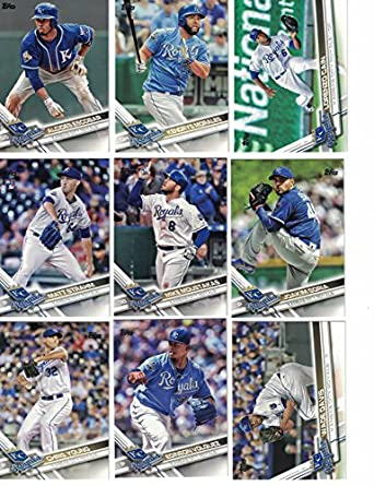 new photos 553ee 22faa Kansas City Royals / Complete 2017 Topps Series 1 & 2 ...