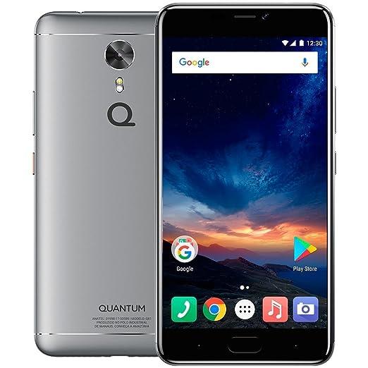 Smartphone Quantum SKY 4G 64 GB Prata Octa 4 GB RA