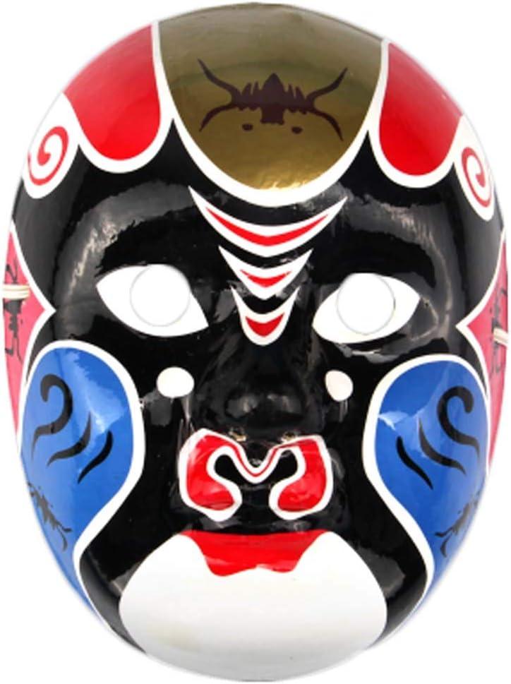 Black Temptation Producto Local Especial Ópera de Pekín Máscara Colección de Cultura Tradicional China Adorno Colgante # 20: Amazon.es: Juguetes y juegos