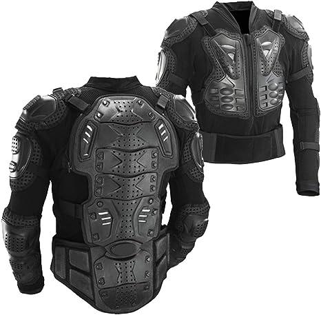 Amazon.com: Chamarra protectora con armadura para ...